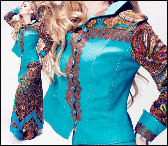 Дом русской одежды коллекция весна лето 2012