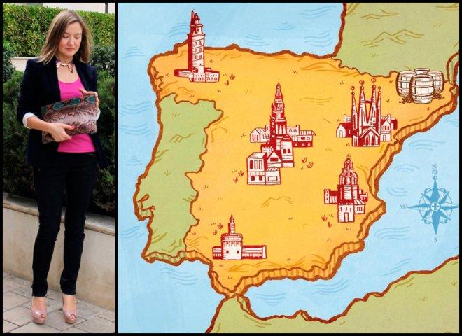 Фэшн блоггер Рая и испанская мода