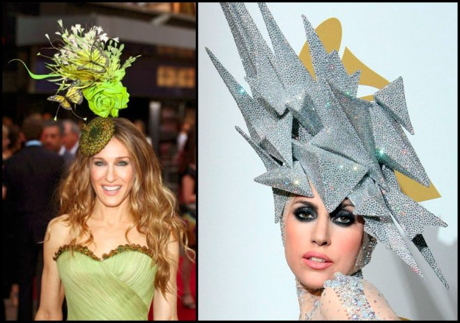 Безумные женские шляпки Филиппа Трейси