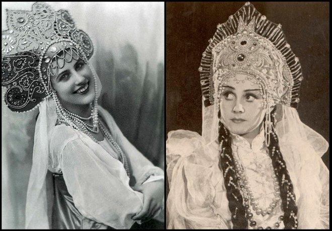 Первые русские модели в Париже