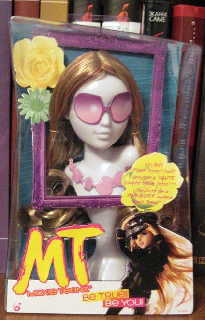 Парик блондинка для куклы Мокси Тинз