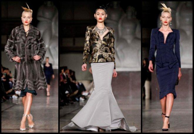 Мода Осень-зима 2012-2013 Zac Posen