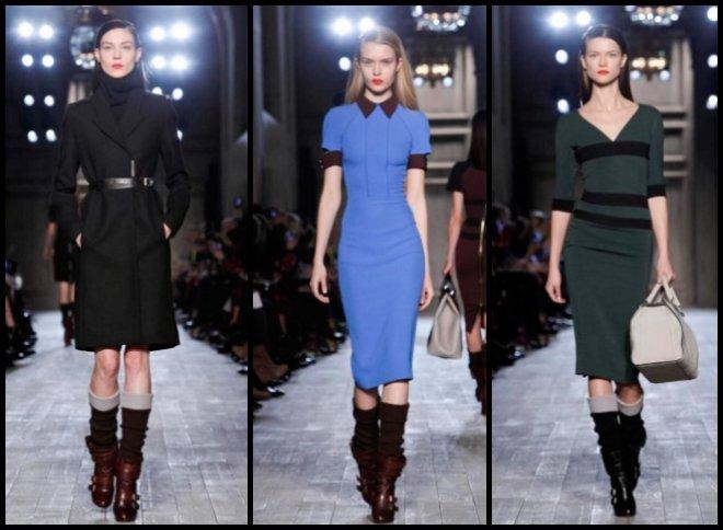 Мода Осень-зима 2012-2013 Victoria Beckham