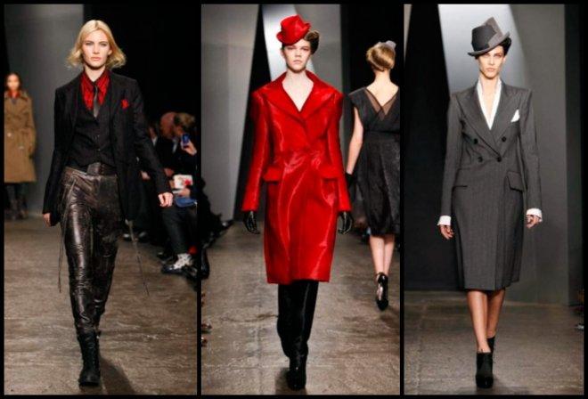 Мода Осень-зима 2012-2013 Donna Karan