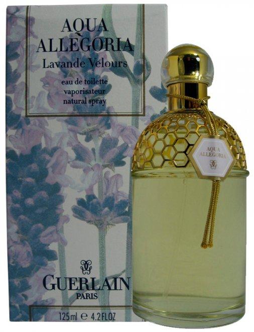 Духи с запахом лаванды Guerlain Aqua Allegoria Lavande Velours