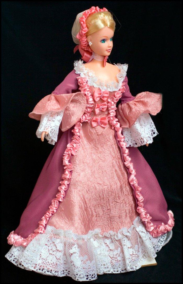 Модное платье для барби своими руками