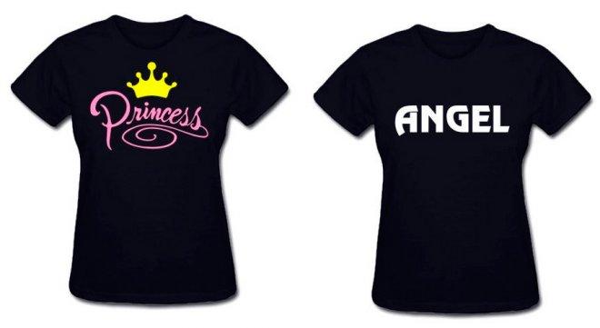 маечка для принцессы и ангела