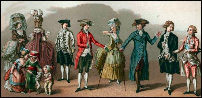 история моды 16-17 век