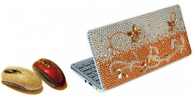 Изделия украшенные кристаллами Сваровски