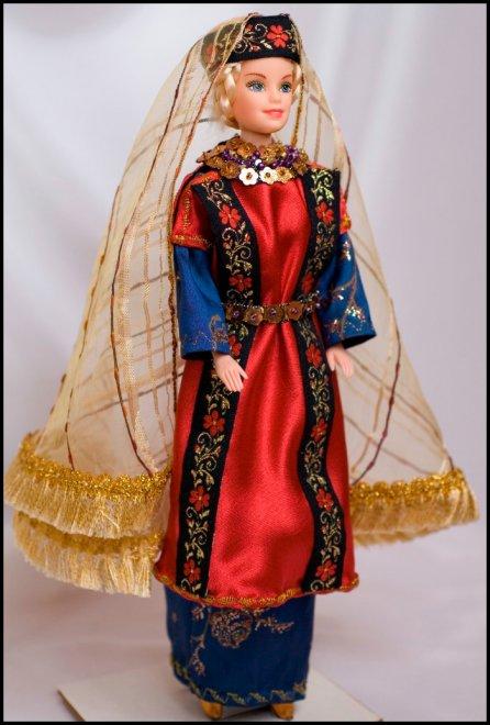 Одежда для кукол, исторический костюм для Барби