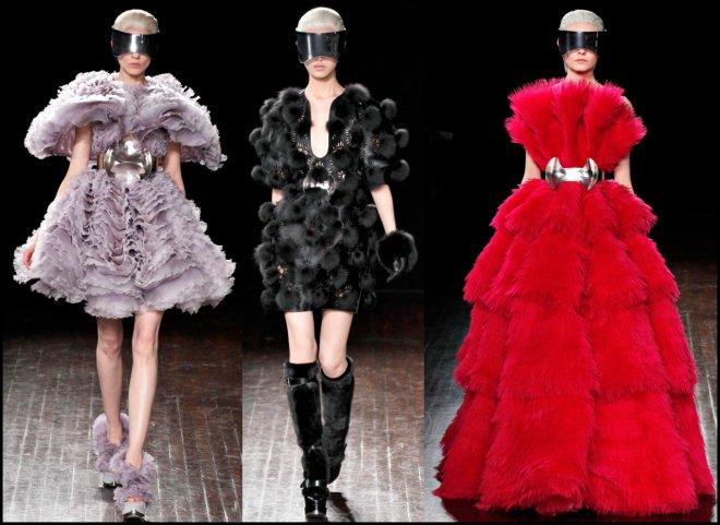 Неделя моды в Париже Alexander McQueen