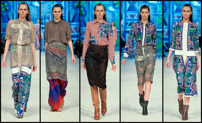 Украинская неделя моды - коллекция Лилия Пустовит