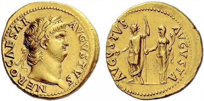 Монета древний Рим