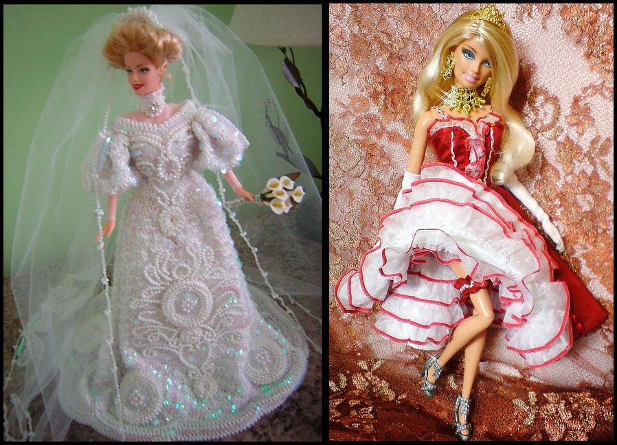 Барби игра сшить платья