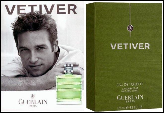 Guerlain Vetiver mens perfume Герлен Ветивер