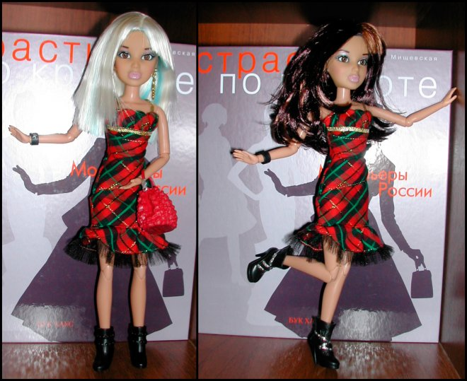 Одежда для кукол Лив платье