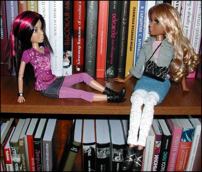 Мои куклы ЛИВ и Мокси Тинз