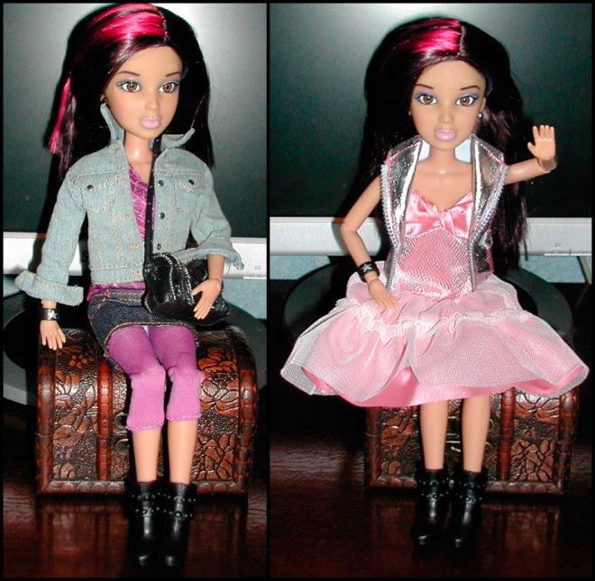 одежда и парики для кукол ЛИВ