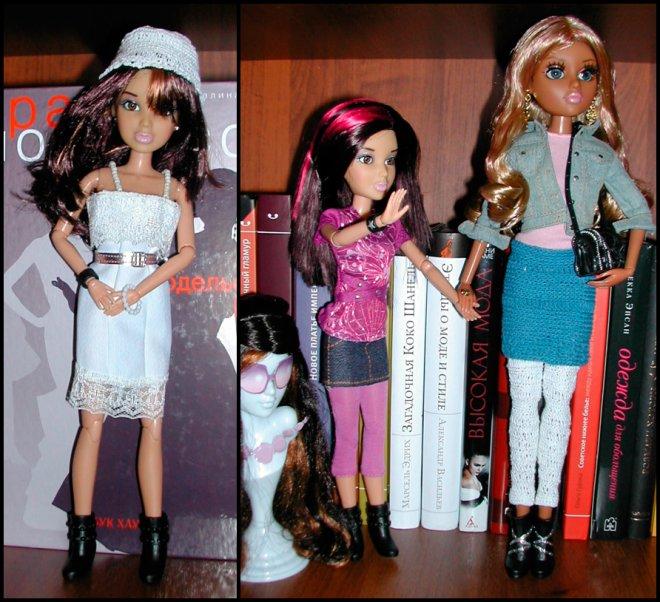 одежда для кукол Лив и Мокси Тинз