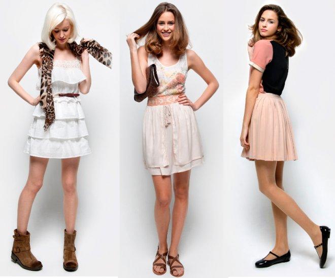Доступная одежда для девушек Naf Naf