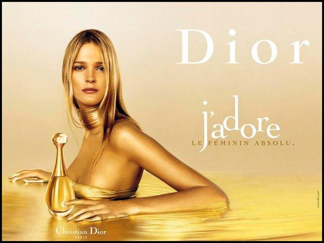 Кармен Каас Аромат Christian Dior Jadore