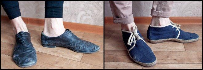 Обувь хипстера