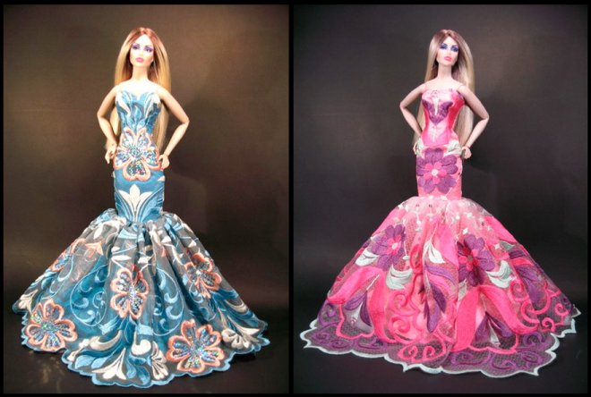 Шьем платья для Барби