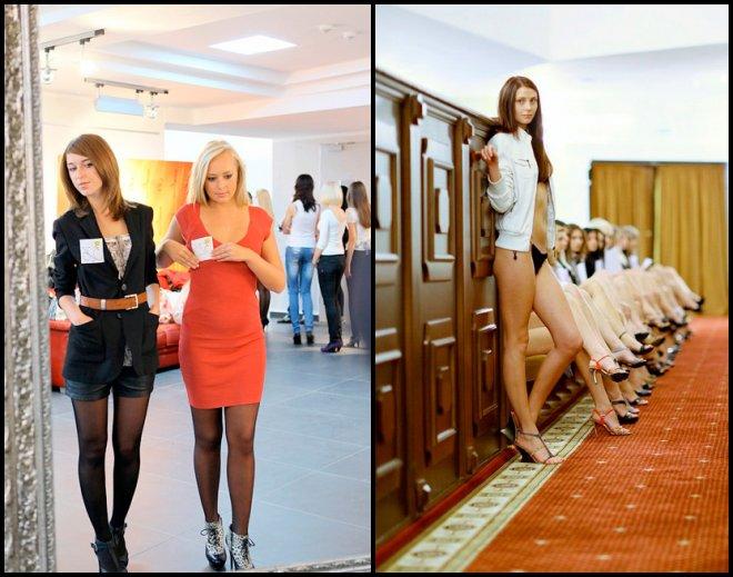Мисс-Беларусь 2012 Кастинги