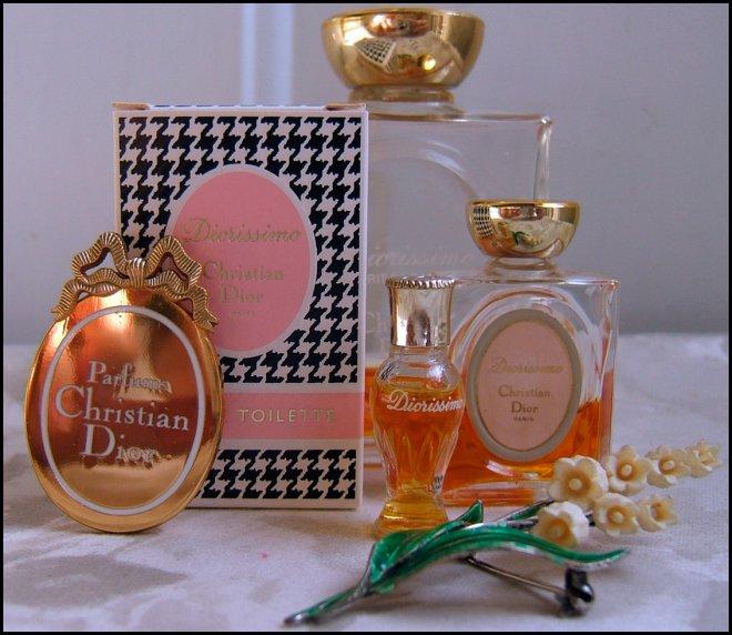 Christian Dior Diorissimo Ландыш парфюмерии