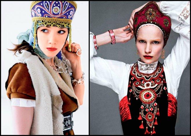 Модели в русском стиле