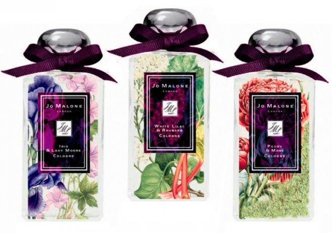 Jo Malone White Lilac & Rhubarb Парфюмерия с ароматом сирени