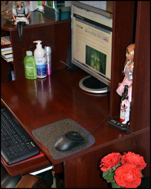 Рабочее место для успешного блоггера