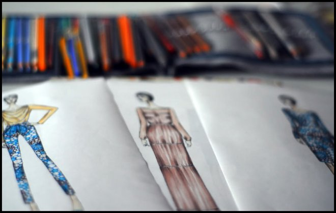 Учеба на дизайнера одежды