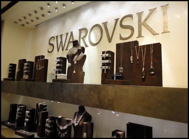 Магазин Сваровски в Нью-Йорке