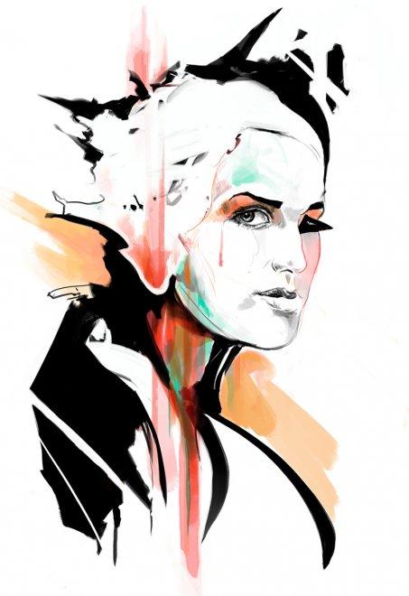 Иллюстрация Дэвида Доунтона