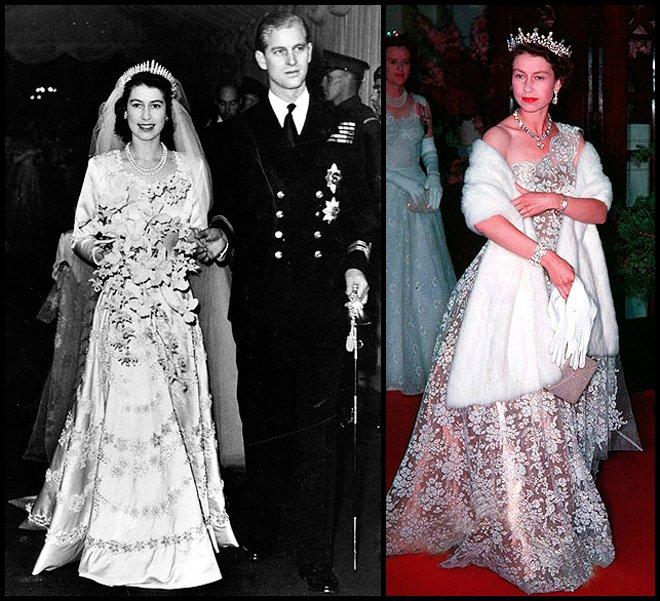 Королева Англии Елизавета выходит замуж
