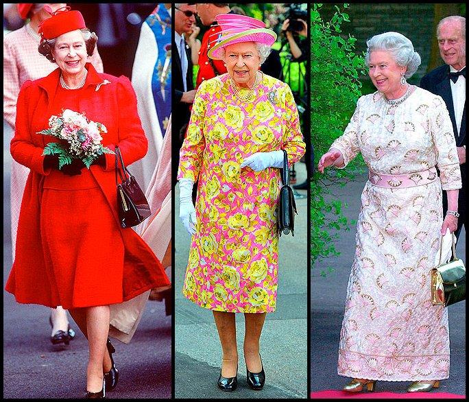 Елизавета вторая платья