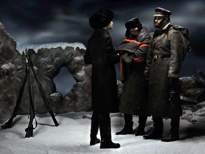Революция 1917 года в фэшн фото