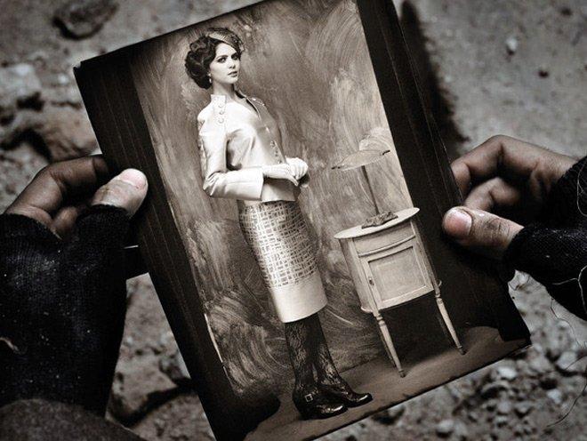 Фотосессия стилизованная под революцию 1917