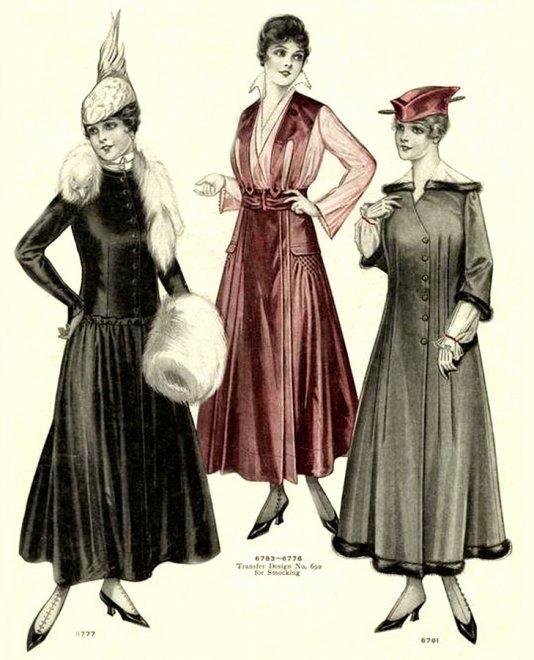 Винтажная Fashion иллюстрация