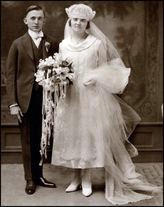 Винтажные свадебные платья в фото