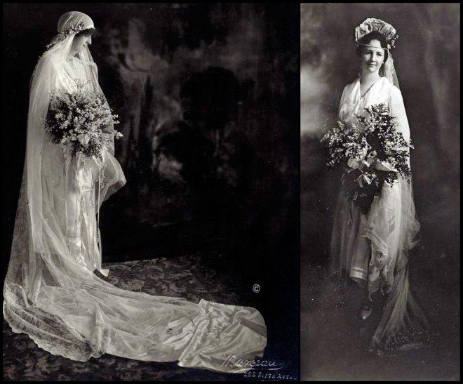 Антикварное свадебное фото