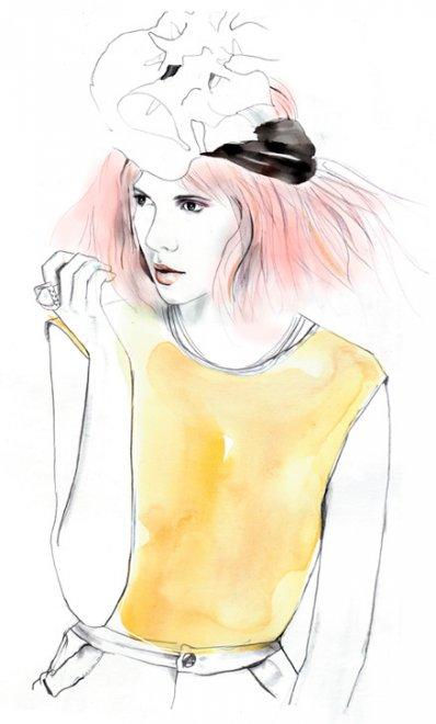 Сара Ханкинсон картинки мода