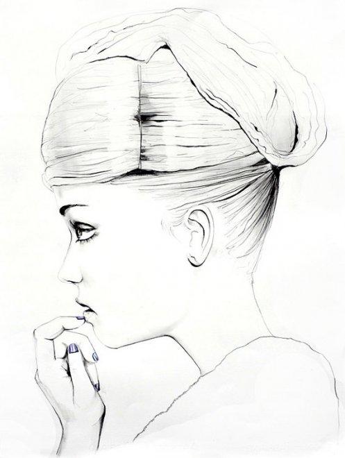 Самые красивые фэшн иллюстрации Сары Ханкинсон