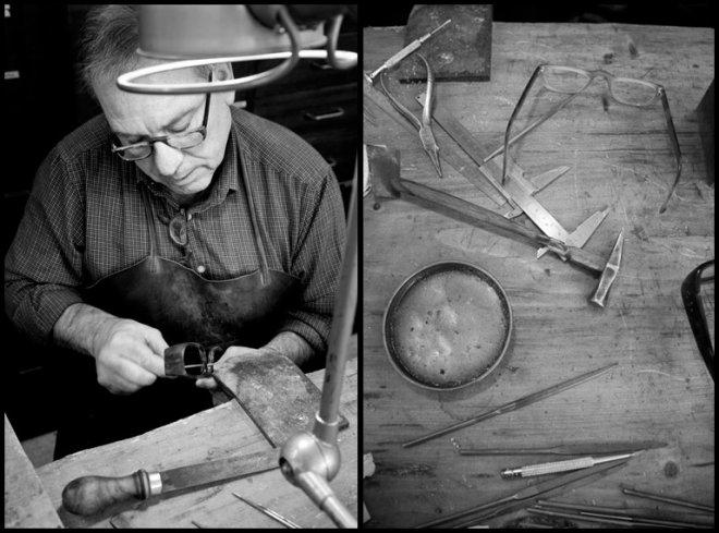 Мастерская оправы для очков из черепашьего панциря