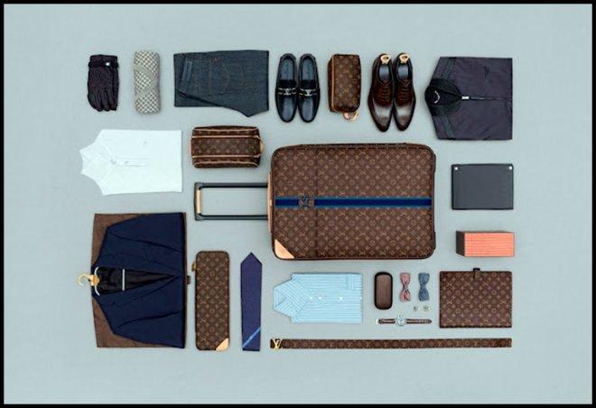 Сумка-чемодан с длиной ручкой