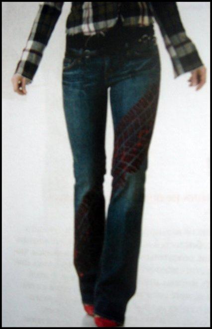 Как украсить джинсы для девочек