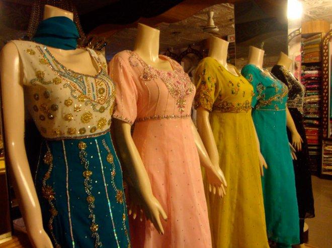 Платья расшитые бисером