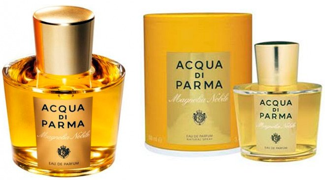 магнолия в парфюмерии Acqua di Parma Magnolia Nobile