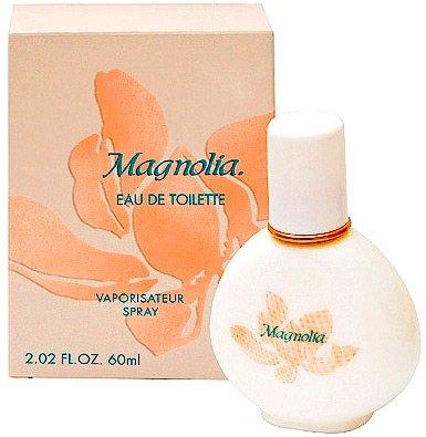 парфюмерия с ароматом цветов магнолии